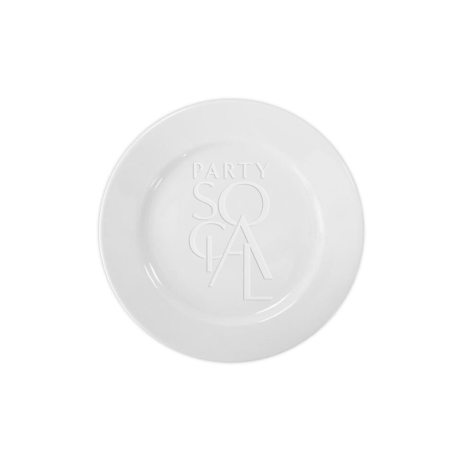 CHARGER PLATE - SIMPLE WHITE