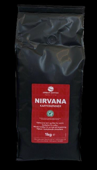 Nirvana, Rainforest Alliance hele kaffebønner 8 X 1kg