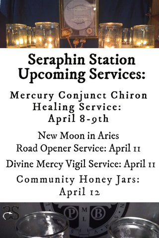 Upcoming Community Altar Work Services in April