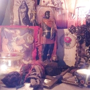 Recent reading roundup: St. Expedite, Hindu chromos in Haiti, iconography in retablos, domestic work in the segregated South