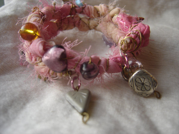 Love Charm Talisman Bracelet Stack + Earrings