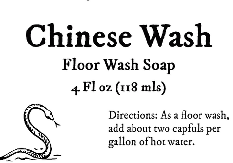 Chinese Wash Floorwash