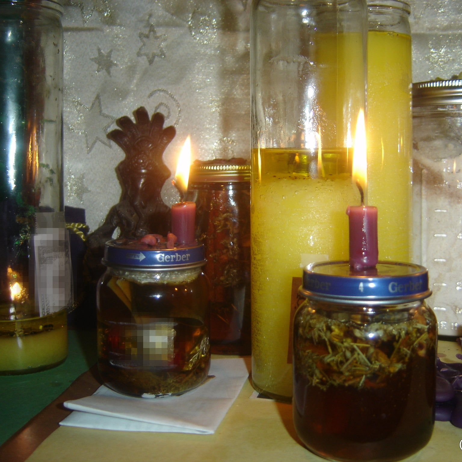 Honey Jar Altar Work