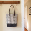 "Gray ""Dashes"" Tote"