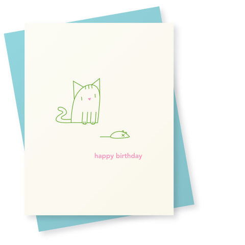 Cat and Mouse Birthday