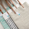 "Natural ""Dots"" Tote"