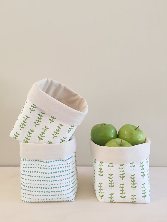 Fabric Basket – Bright