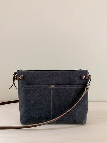 Crossbody Bag with Zipper