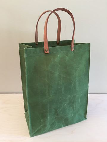 "Waxed Canvas ""Paper Bag"""