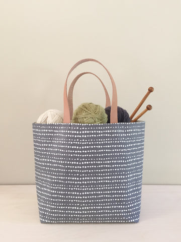 Project Bag – Gray Linen