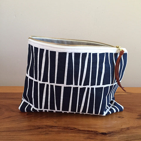 Zipper Pouch – Navy