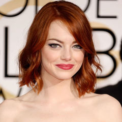 Emma Stone 2A red hair at Golden Globe Awards