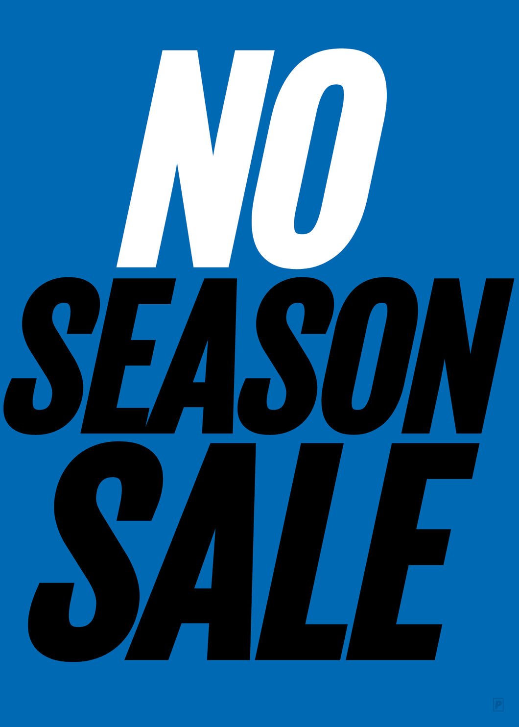 NO SEASON SALE