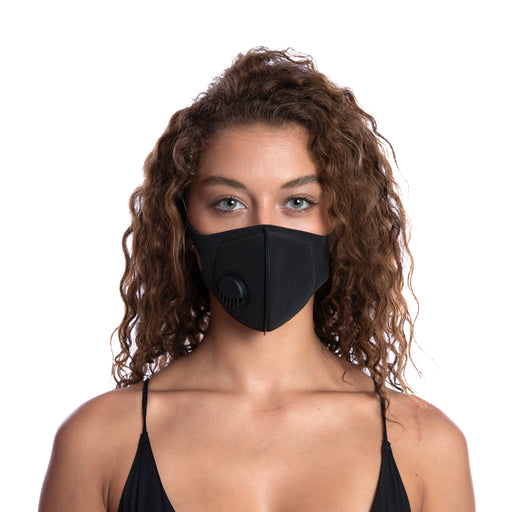 MEDIPOP Washable V Mask - Black - 1 unit