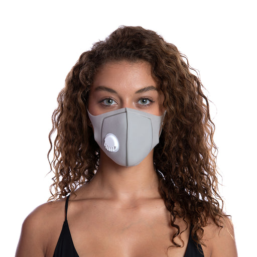 MEDIPOP Washable V Mask - Grey - 1 unit