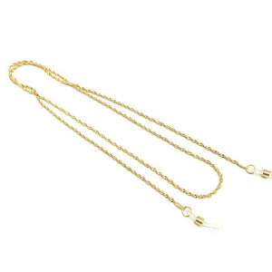 Sunglasses Chain In Gold - The Changing World Store
