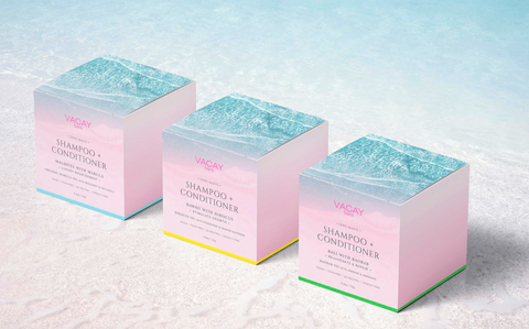 Vaycay Beauty Signature Collection Shampoo and Conditioner Bars