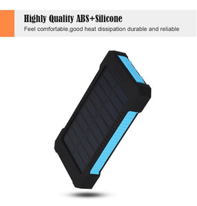 20000mAh Solar Powered Power Bank