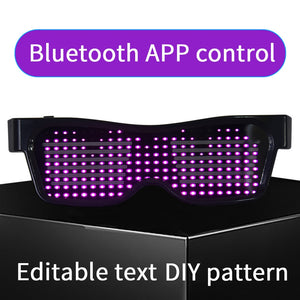 2019 NEWEST LED Glasses