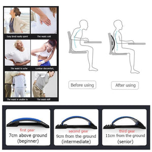 BACK STRETCH EQUIPMENT MASSAGER