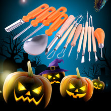 Load image into Gallery viewer, 13PCS Halloween Pumpkin Carving Set