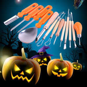 13PCS Halloween Pumpkin Carving Set