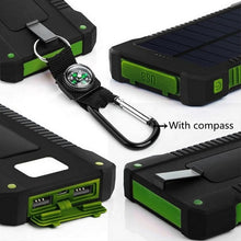 Load image into Gallery viewer, 20000mAh Solar Powered Power Bank