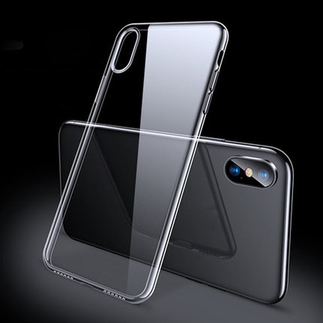 Luxury Case For iPhone X XR XS 8 7 6 Ultra Thin Slim Soft TPU Silicone Cover