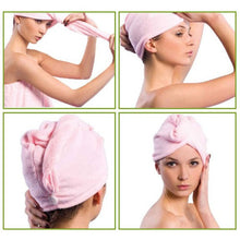 Load image into Gallery viewer, Rapid Hair Drying Towel