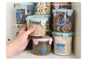 Kitchen Stackable Plastic Sealed Food Storage Boxes