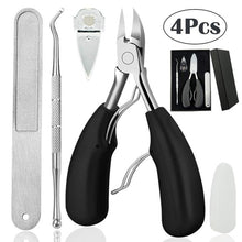Load image into Gallery viewer, 4PC Precision Toe Nail Clipper
