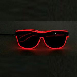 Wire LED Glasses
