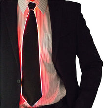Load image into Gallery viewer, LED Glowing Tie