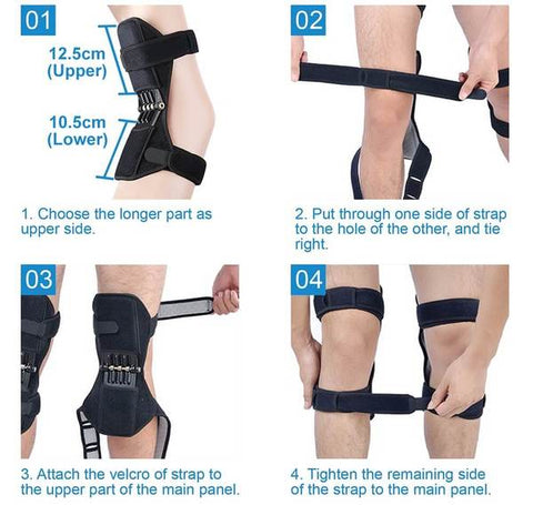 power knee stabilizer pads joint support knee pads