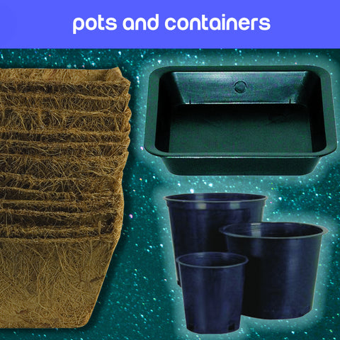 Garden Pots & Containers