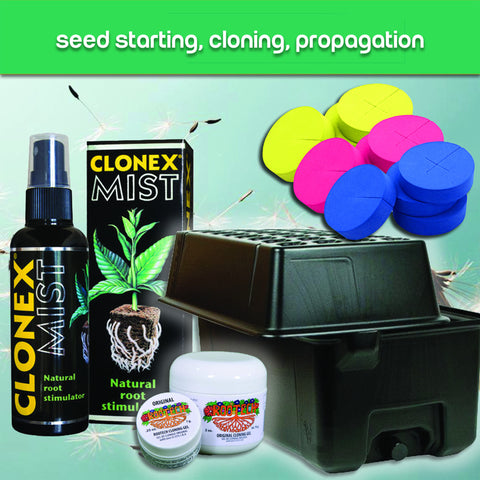 Seed Starting, Cloning, Propagation
