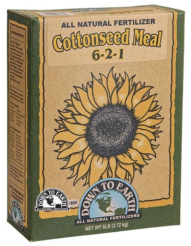 Down to Earth Cottonseed Meal 5lb