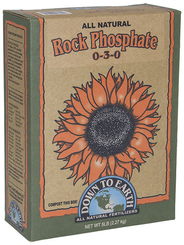 Down to Earth Rock Phosphate 5lb