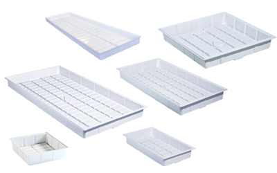Botanicare Grow Tray 24x44x7 - White