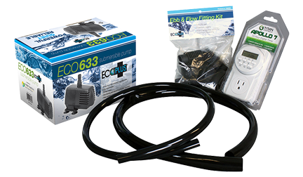 Hydro Flow 4 x 8 Flood and Drain Kit