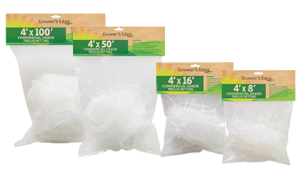 Grower's Edge Commercial Grade Trellis Netting 36 in x 328 ft
