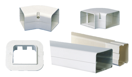 SpeediChannel 4in Flat Wall Escutcheon Fitting (10/Cs)