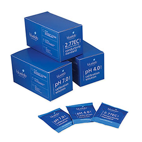 Bluelab pH 4.0 Calibration Solution 20ml Sachets (25/Cs)