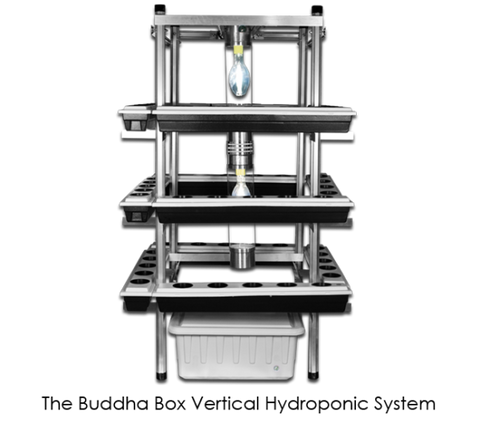 Buddha Box Vertical Hydroponic Grow System