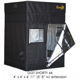 "SHORTY Gorilla Grow Tent, 4' x 4', w/9"" Extension Kit"