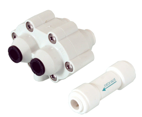High Pressure Automatic Shutoff Valve with Back Flow Preventer