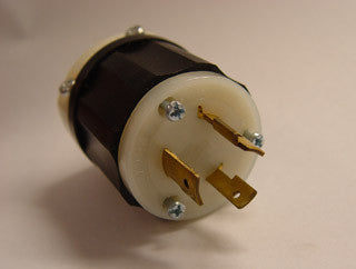 Replacement plug 20 amp 277v