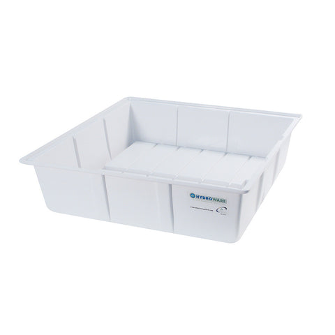 "Botanicare White Grow Tray, 22"" x 22"" x 7"""