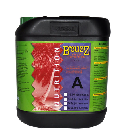 B'Cuzz Coco Nutrition Component A 20L