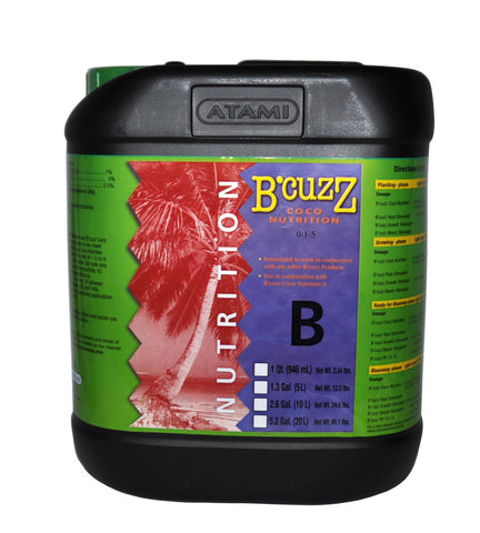 B'Cuzz Coco Nutrition Component B 20L